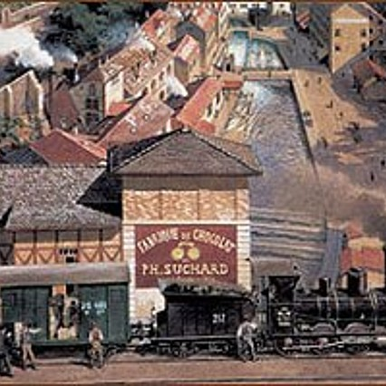 Soon the first manufactures grew into proper factories. At the end of the 19th century the biggest one was that of Philippe Suchard in Serrières.