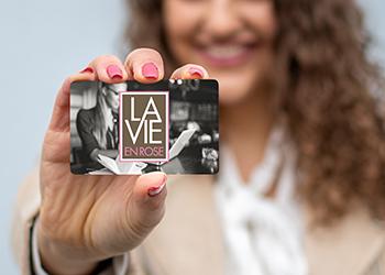 Geschenkkarte La Vie