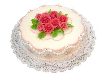 Single tier cakes