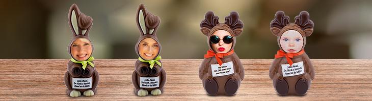 Face Bunny & Rentier