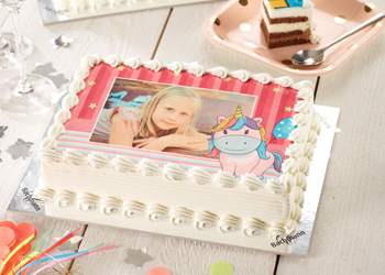 Photo cakes with frame