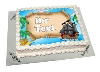 Photo cakes with your text