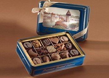Lucerne tin boxes