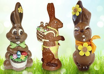 Giant Easter bunnies