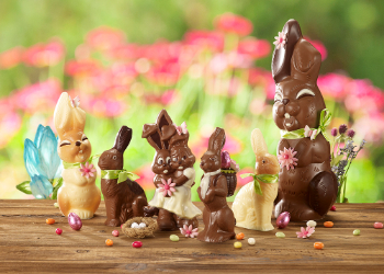 Giant Easter bunnies