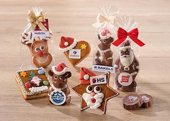 Santa chocolate