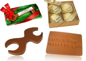 Special shapes chocolate