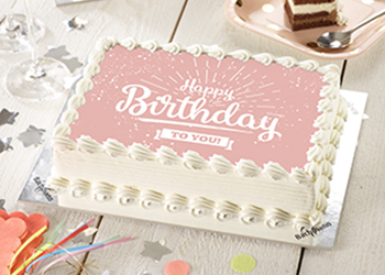 Photo cakes with graphics
