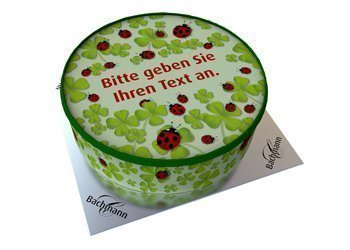 Shipping cake your text