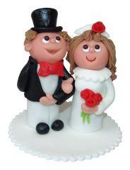 Brautpaar Marzipan