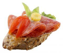 Bruschetta Salami