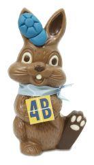 Osterhase Bunny mit Logo