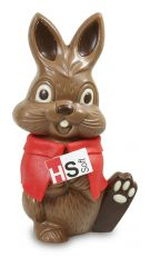 Easter bunny with logo