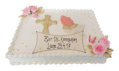 Kommunion Torte Gebet