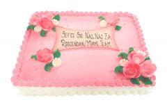 Torte pink Rose