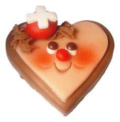 CH Herz aus Schokolade