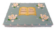 Communion Cake Elegance