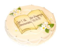 Kommunion Torte Libro
