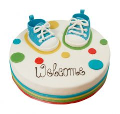 Welcome Color-Torte rund