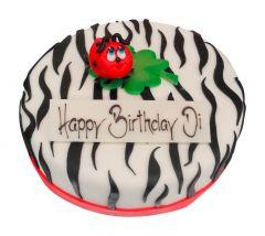Torte Zebra Muster