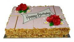 Crèmeschnitte Birthday