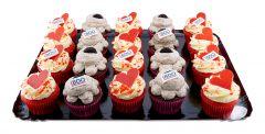 Cupcake Platte 20er