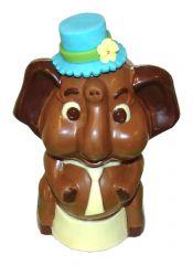 Elefant aus Schokolade