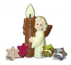 Engel mit Kerze Knusper