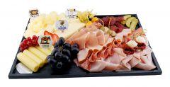 Fleisch-Käseplatte rund