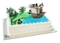 Kindergeburtstagstorte Pirat im Segelschiff
