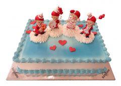 Children's Birthday Cake Clowns