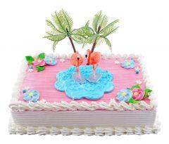 Kindergeburtstagstorte Flamingo