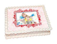 Photo Cake Ornament