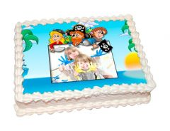 Photo Cake Pirate Party