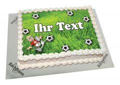 Photo Cake Soccer