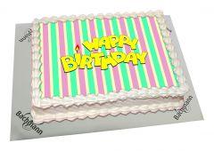 Photo Cake Birthday