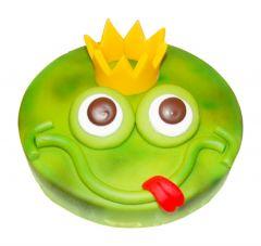 Kindergeburtstagstorte Froschkönig
