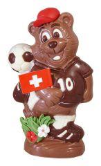 Fussball Bär aus Schokolade