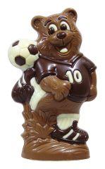 Fussball Baer aus Schokolade