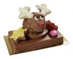 Gianduja-Tafel Christmas