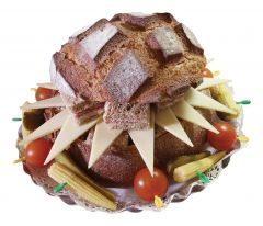 Gourmet Brot Greyerzer-Käse