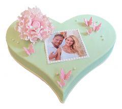 Herz-Torte Mint