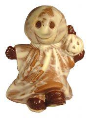 Halloween Geist aus Schokolade