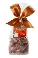 Halloween Säckli mit Schokolade