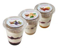 Heidelbeer-Mango-Aprikose-Joghurt