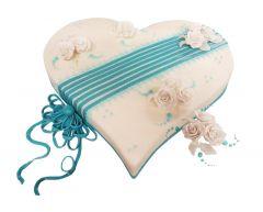 Heart Cake Azure