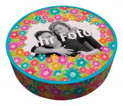 Shipping Cake Your Photo Flowers