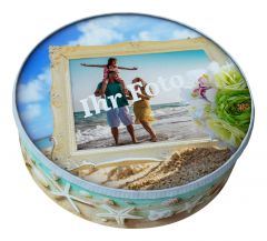 Shipping Cake Your Photo Ornament