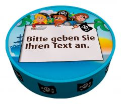 Shipping Cake Your Text Pirates