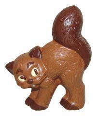 Katze aus Schokolade